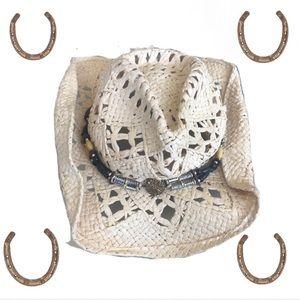 Bullhide Western Cowboy shatters w/Hatband